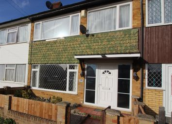 Thumbnail 3 bed terraced house for sale in St. Johns Crescent, Canvey Island