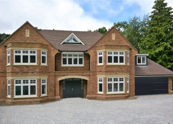 Thumbnail 4 bed detached house for sale in Ardwell Close, Crowthorne, Berkshire