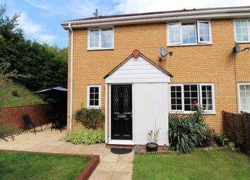 Thumbnail 2 bed end terrace house to rent in Wrights Way, Woolpit, Bury St. Edmunds
