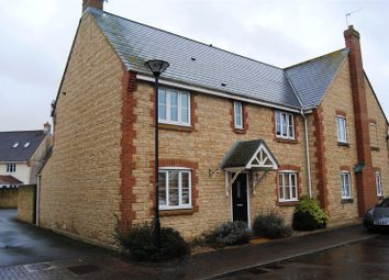 Thumbnail 4 bed semi-detached house for sale in Minnow Close, Oakhurst, Swindon
