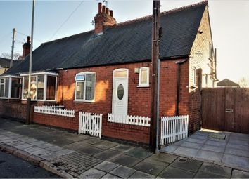 Thumbnail 2 bed semi-detached bungalow for sale in Dunbar Road, Leicester