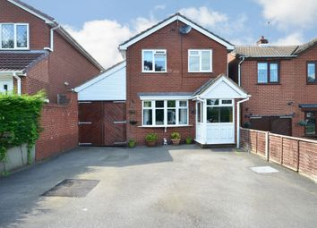 Thumbnail 3 bed detached house for sale in Sandon Close, Cresswell, Stoke-On-Trent