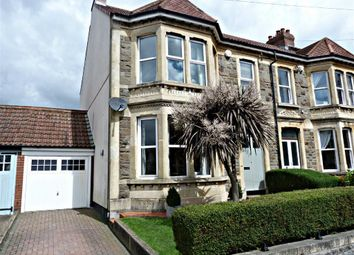 Thumbnail 4 bed end terrace house for sale in Calcott Road, Knowle, Bristol