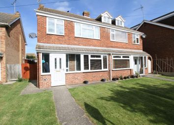 Thumbnail 3 bed semi-detached house for sale in Sherwood Drive, Seasalter, Whitstable
