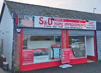 Thumbnail Retail premises for sale in Fernleigh Road, Glasgow