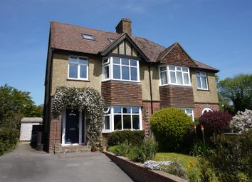 Thumbnail 4 bed semi-detached house for sale in Bell Hill, Petersfield