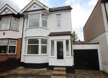 Thumbnail 4 bedroom semi-detached house for sale in Chestnut Ave, Buckhurst Hill, Essex