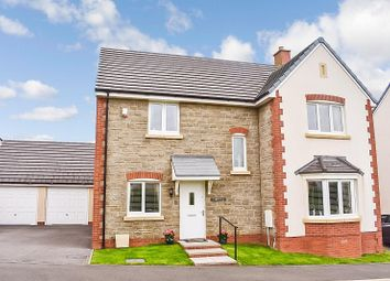 Thumbnail 4 bed detached house for sale in Ffordd Y Cigfran, Coity, Bridgend.