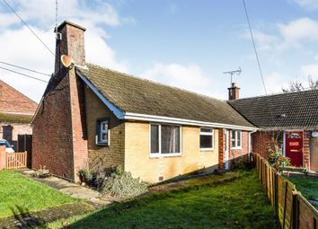 Thumbnail 2 bed semi-detached bungalow for sale in Glebe Estate, Tilney All Saints, King's Lynn