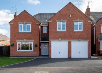Thumbnail 5 bed detached house for sale in Lychgate Close, Burbage, Hinckley