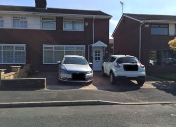 Thumbnail 3 bed semi-detached house for sale in Taunton Road, Chadderton, Oldham