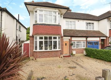 Thumbnail 3 bed semi-detached house for sale in Elm Avenue, Ruislip, Middlesex