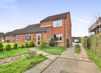 Thumbnail 2 bedroom semi-detached house for sale in Orchard Close, North Elmham, Dereham