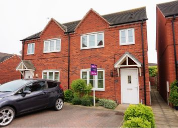 Thumbnail 3 bed semi-detached house for sale in Furrowfield Park, Tewkesbury