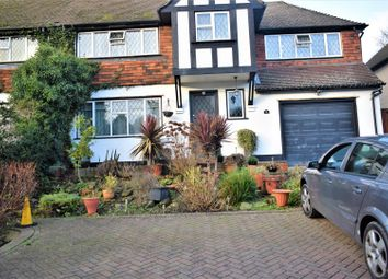 Thumbnail 4 bed semi-detached house for sale in Woodcote Valley Road, Purley