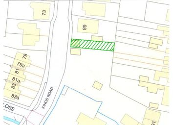 Thumbnail Land for sale in High Street, Oakham