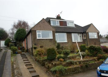 Thumbnail 3 bed semi-detached bungalow for sale in Manor House Road, Wilsden, Bradford, West Yorkshire