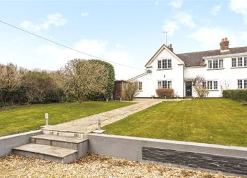 Thumbnail 3 bed semi-detached house for sale in White Cottages, West Meon, Petersfield