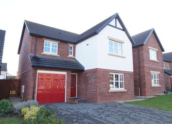 Thumbnail 4 bed detached house for sale in Grange Close, Wigton, Cumbria