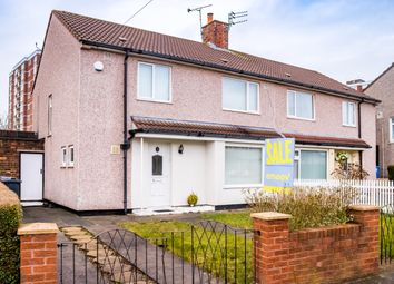 Thumbnail 4 bed semi-detached house for sale in Medbourne Crescent, Liverpool