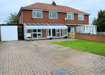 Thumbnail 4 bed semi-detached house for sale in Station Road, Wistow
