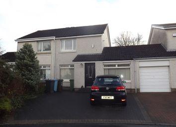 Thumbnail 2 bed semi-detached house to rent in Craigelvan Avenue, Condorrat, Cumbernauld