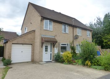 Thumbnail 3 bed semi-detached house for sale in Draper Way, Norwich