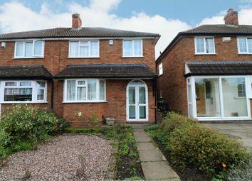 3 bed semi-detached house for sale in Arundel Road, Maypole, Birmingham B14