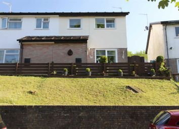 3 bed semi-detached house for sale in Bronmynydd, Abertridwr, Caerphilly CF83