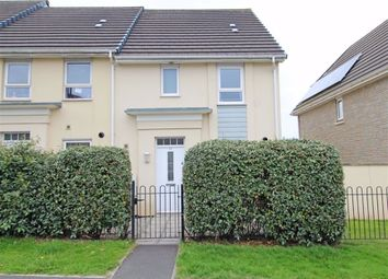 Thumbnail 3 bed end terrace house for sale in Efford Road, Higher Compton, Plymouth