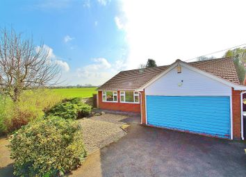 Thumbnail 3 bed bungalow for sale in Middlefield Road, Cossington, Leicestershire