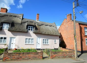 Thumbnail 2 bedroom terraced house to rent in Clare, Sudbury, Suffolk