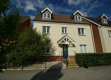Thumbnail 5 bedroom detached house for sale in Walson Way, Stansted