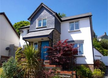 Thumbnail 4 bed detached house for sale in Chynoon Gardens, St Austell, Cornwall