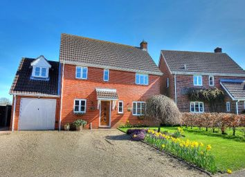 Thumbnail 4 bed detached house for sale in Pound Close, Banham, Norwich
