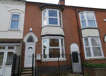 3 bed terraced house for sale in Westminster Road, Handsworth, Birmingham, West Midlands B20