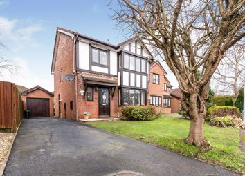 Thumbnail 3 bedroom detached house for sale in The Shires, Marshfield, Cardiff