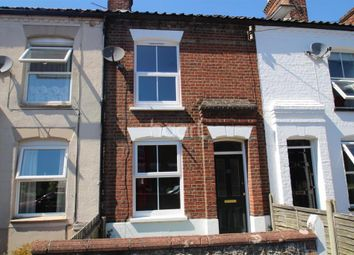 Thumbnail 2 bedroom terraced house to rent in Melrose Road, Norwich
