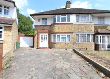 Thumbnail 3 bed semi-detached house to rent in Cheyneys Avenue, Edgware