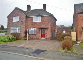 Thumbnail 2 bedroom semi-detached house for sale in Mulberry Road, Cannock