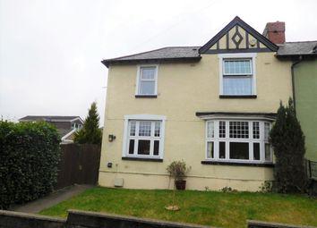 Thumbnail 3 bed semi-detached house for sale in Hillside Terrace, Tredomen, Ystrad Mynach, Caerphilly