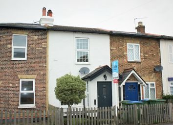 Thumbnail 2 bed terraced house for sale in Molesey Road, Hersham, Surrey, England