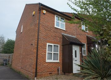 Thumbnail 2 bed end terrace house to rent in The Stampers, Maidstone