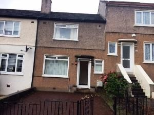 Thumbnail 2 bed terraced house to rent in Bolivar Terrace, Glasgow