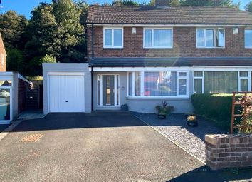 Thumbnail 3 bed semi-detached house for sale in Stella Hall Drive, Blaydon-On-Tyne