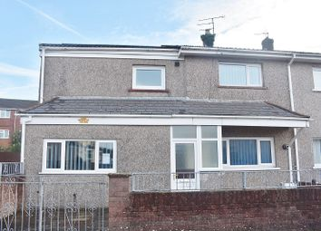 Thumbnail 3 bed semi-detached house for sale in Terfyn, Ynysawdre, Tondu, Bridgend.