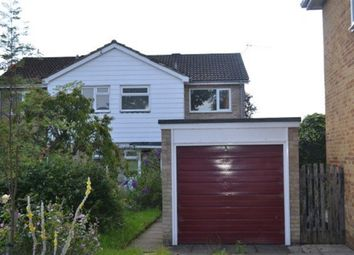 Thumbnail 3 bed semi-detached house to rent in Gilbey Crescent, Stansted, Essex