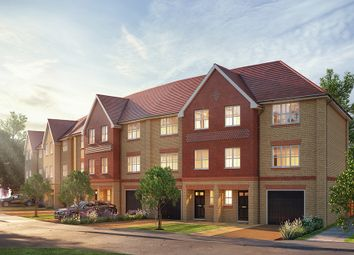Thumbnail 3 bed town house for sale in Jubilee Meadows, Hersham Road, Hersham, Surrey