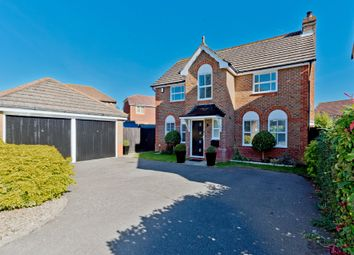 Thumbnail 4 bed detached house for sale in Coppard Gardens, Chessington