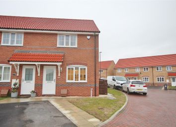Thumbnail 2 bed end terrace house for sale in Poplar Drive, Barlby, Selby
